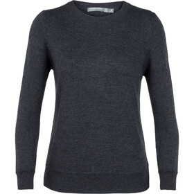 Icebreaker Muster Crewe Sweater Women char heather